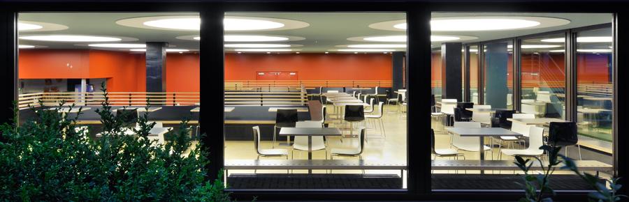 Modernisierung Cafeteria PH und HVF