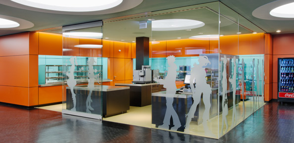 Erneuerung Küche, Cafeteria PH und HVF